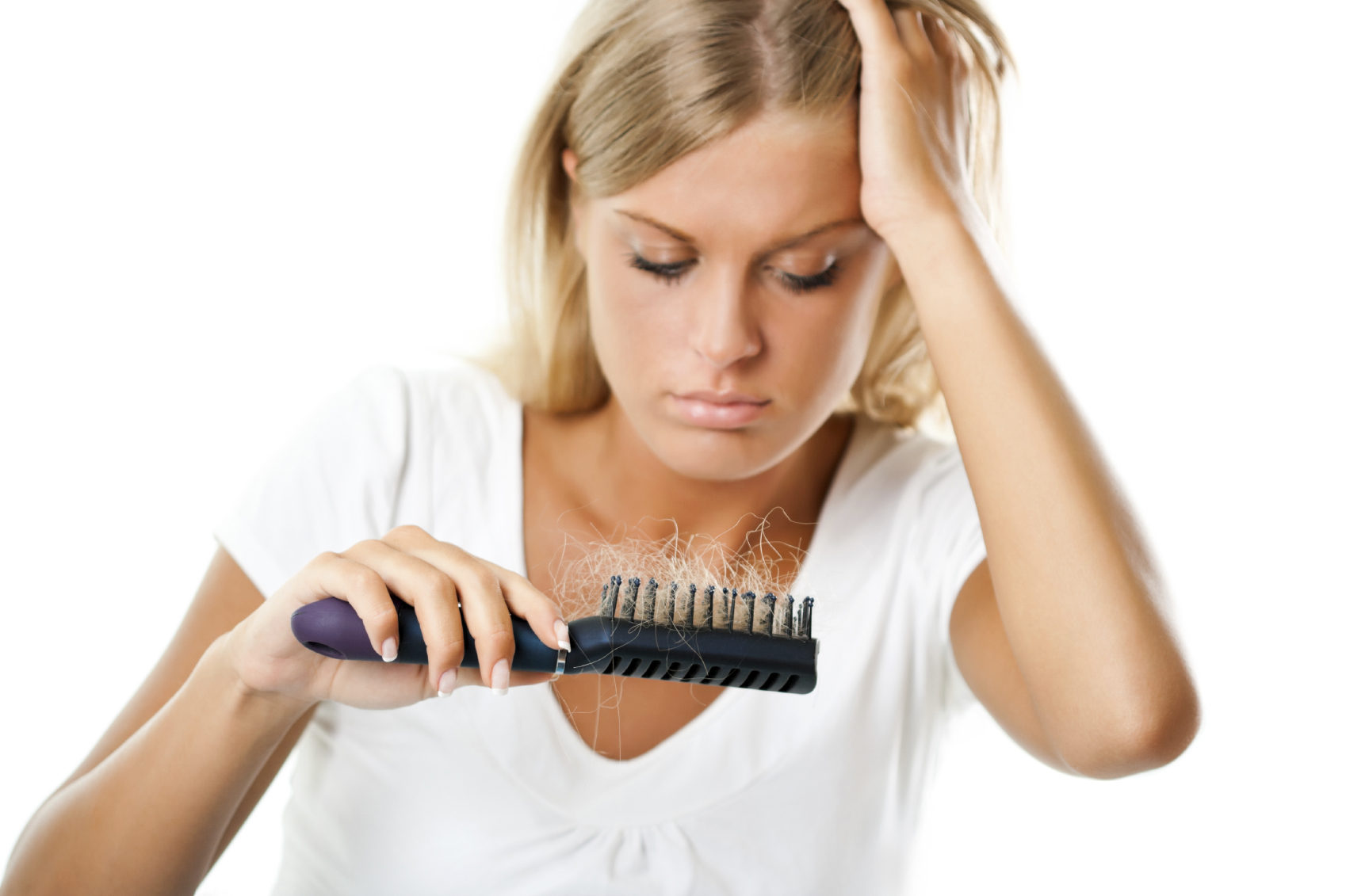 Slow Hair Loss with Right Diet