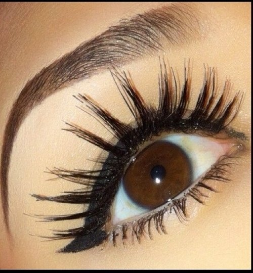 Naturally Thicker Eyelashes
