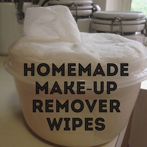 DIY Homemade Makeup Remover Wipes