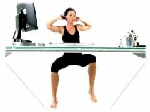How to Workout Abs While Working at Your Desk and Get a Flat Belly